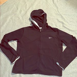 Nike Zip up hoodie medium